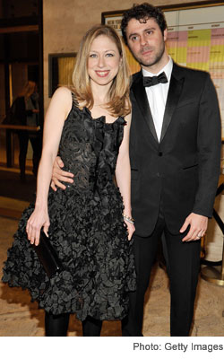 Chelsea Clinton Marc Mezvinsky School of American Ballet Winter Ball
