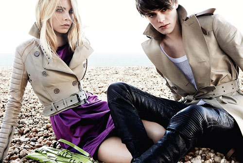 Burberry Spring 2011 campaign