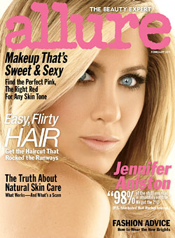 Jennifer Anniston Allure cover