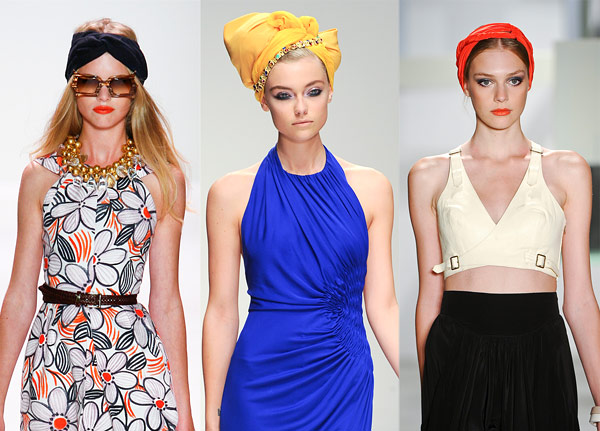 The New Spring 2011 Trend! - DIY TURBAN