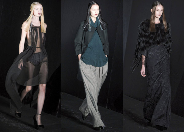 Theyskens for Theory Fall 2011 RTW