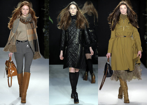 Mulberry Fall 2011 ready to wear collection