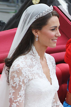 kate middleton hair royal wedding day