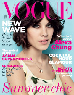 Alexa Chung Vogue UK June cover