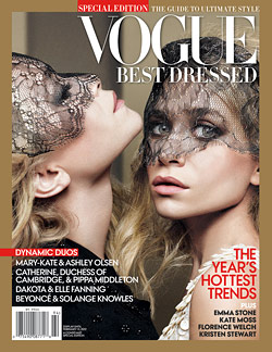olsen twins vogue best dressed issue