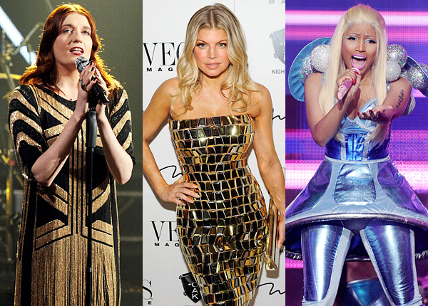 Florence Welch Fergie Nicki Minaj New Years Eve