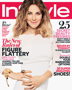 drew barrymore instyle magazine