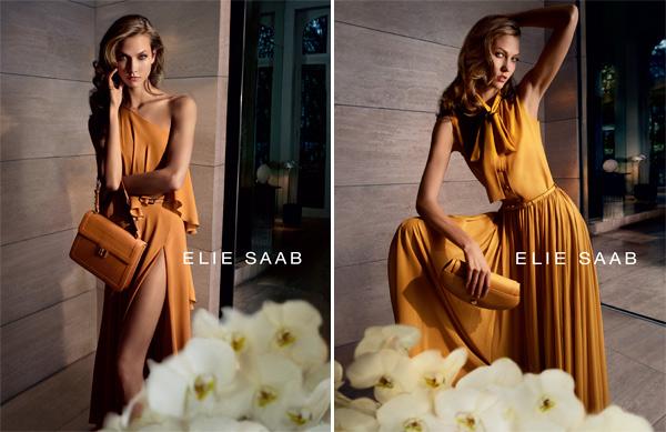Karlie Kloss Elie Saab Ad Campaign