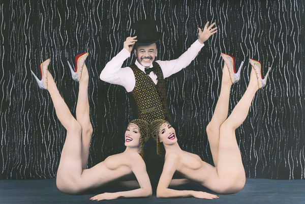 christian louboutin partners with paris cabaret Crazyhorse
