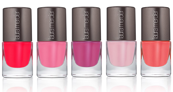Laura Mercier's Spring 2012 polishes