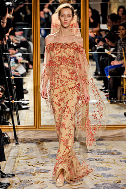 Marchesa Fall 2012 runway