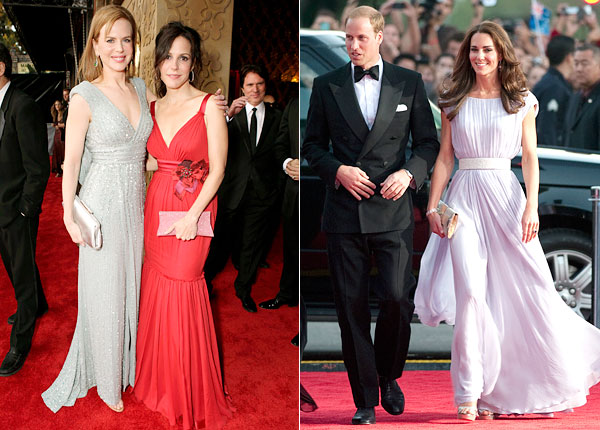 BAFTA Nicole Kidman Mary Louise Parker Duke Duchess of Cambridge