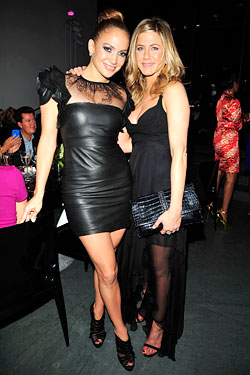 J.Lo  Jennifer Aniston Glamour Women of the Year Awards